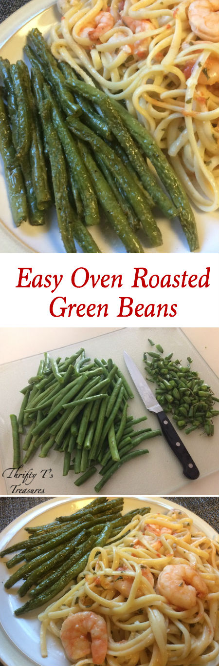 Who said that baked veggies can't be healthy and simple?! This Easy Oven Roasted Green Beans Recipe is made with fresh veggies and a few other household ingredients. So turn on that oven, get your families in the kitchen, and as you learn how to cook this recipe it'll likely become one of your favorite side dishes!