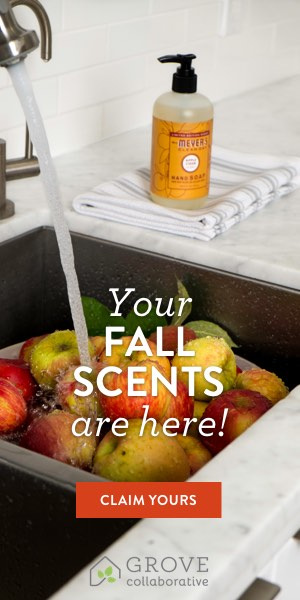 If you're like me you like to keep healthy products in your home to not only keep the kitchen but the bathrooms smelling clean. You're going to love these new Fall scents from Mrs. Meyers. Plus I have a little secret for you...you can get them for FREE. Come learn how!