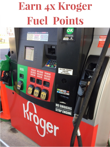 How would you like to save money on gas AND get some Christmas shopping done?! Stop by and learn how to get 4x Kroger Fuel Points.