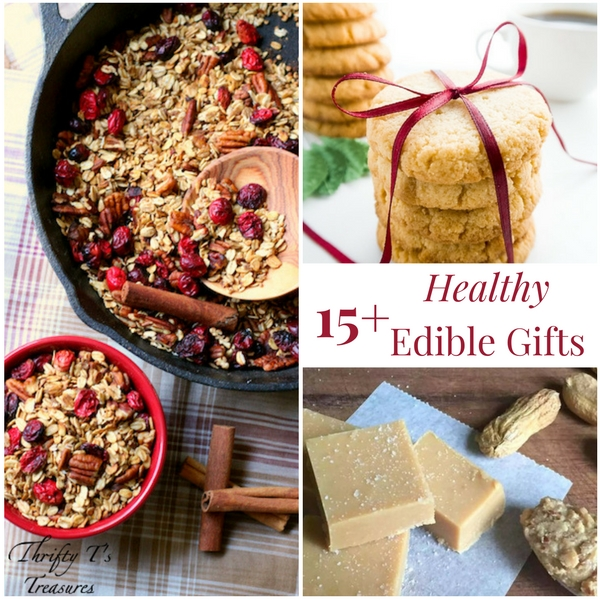 15+ Healthy Edible Gifts - Tshanina Peterson