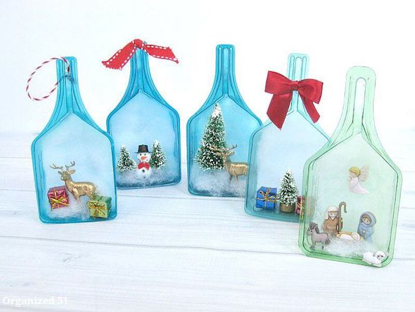 15+ Christmas Table Decorations