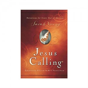 Jesus calling devotional book