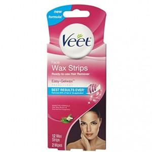 box of wax strips