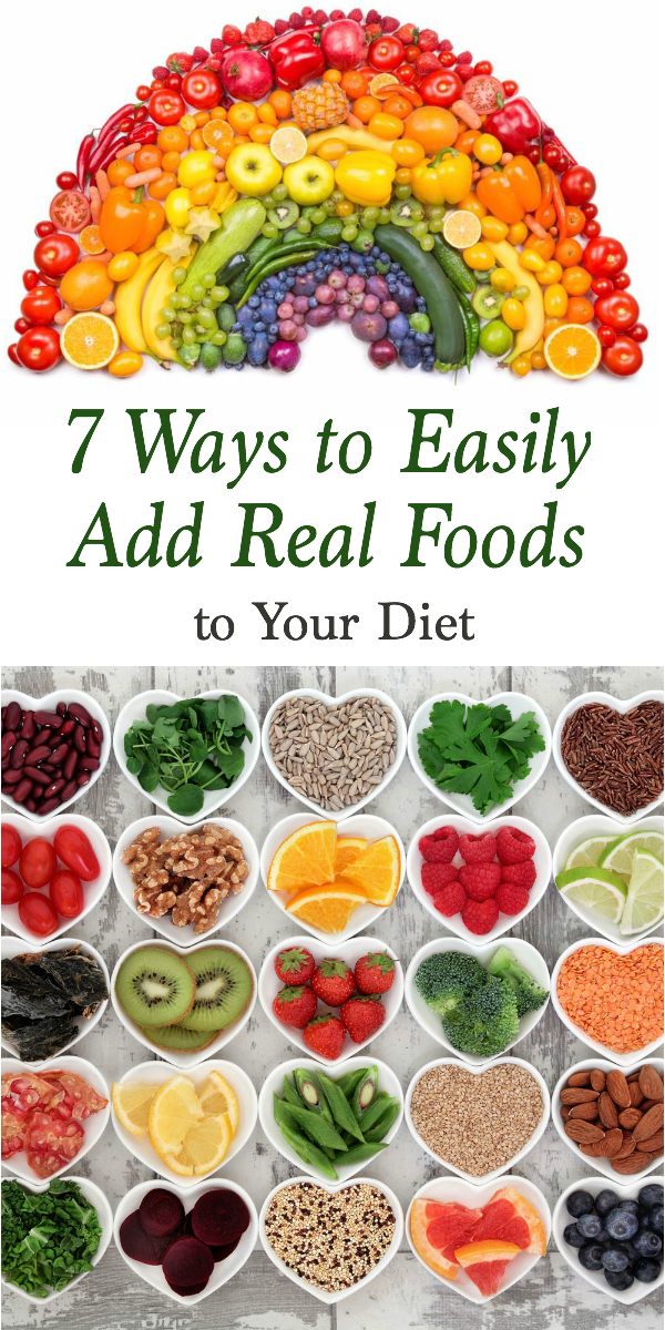 You've seen all of the healthy recipes, read all of the health and fitness magazines, and even have quotes and inspiration to keep you going. But it doesn't seem to be enough and you wish the healthy life could be simple. Oh but it can my friend! I want to share 7 ways to easily add more real food to your diet. These awesome tips and tricks are for women, teens, beginners and even kids, and will be the motivation you need to continue working towards your wellness goals.
