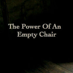 power of an empty chair square