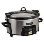 Crock-Pot Cook Travel Serve 6-Quart Programmable Slow Cooker