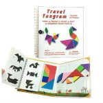 travel magnetic tangram set