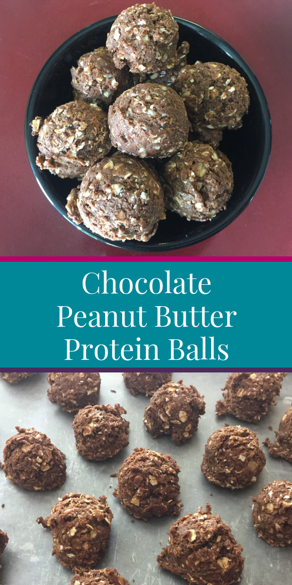 bowl of protein balls