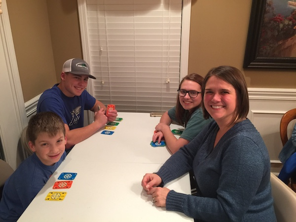family playing card games