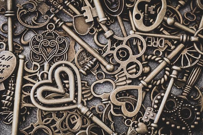 brass skeleton keys