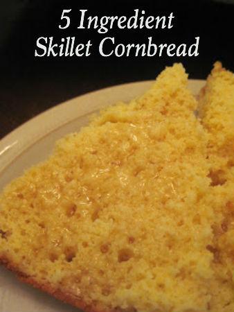 5 Ingredient Skillet Cornbread
