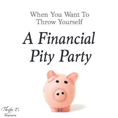 Are there days when you want to throw your financial plan out the window? You follow all of the money saving tips and ideas like saving up and paying cash instead of going into debt but your finances still frustrate you? Well, my friend, you're not alone and it is my hope to encourage you in you trek to financial freedom.