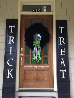 Trick or Treat Shutters