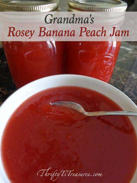Rosey Banana Peach Jam