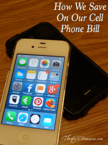 How We Save On Our Cell Phone Bill