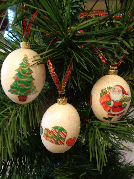 diy egg ornament