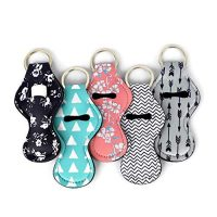 5 chapstick keychain holders