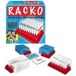 Racko card game