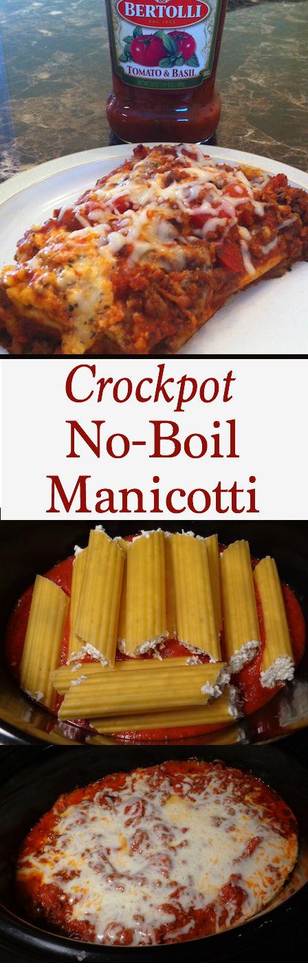 plate of manicotti