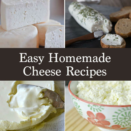 Who knew cheesemaking could be so fun and easy?! Whether cheese is your favorite comfort food or one of your go-to snacks you're going to love learning how to make these simple homemade cheese recipes at home. They're also the perfect diy project so grab your kids and get into those kitchens and start cooking!