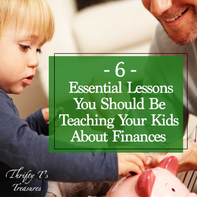 Parenting is hard work especially when it comes to talking to your children about money, whether or not they should have debt or start budgeting, or even planning for the future and saving. These tips are perfect not only for preschoolers and elementary age but high school students too. Why not sit down as a family tonight and start teaching your kids these 6 essential lessons about finances. You'll be glad you did!