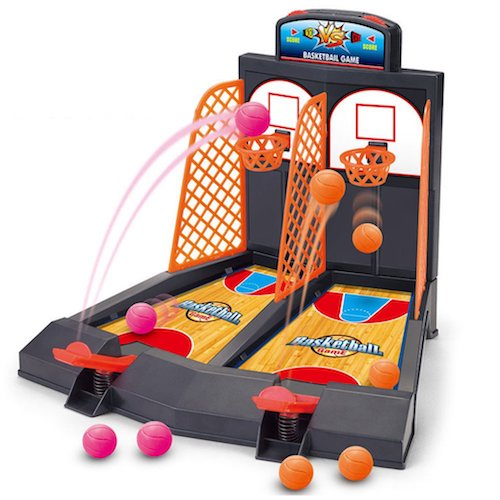mini tabletop basketball shooting game