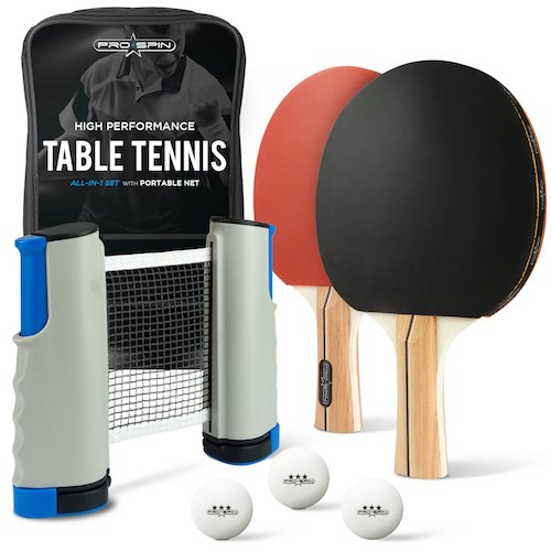 tabletop ping pong set