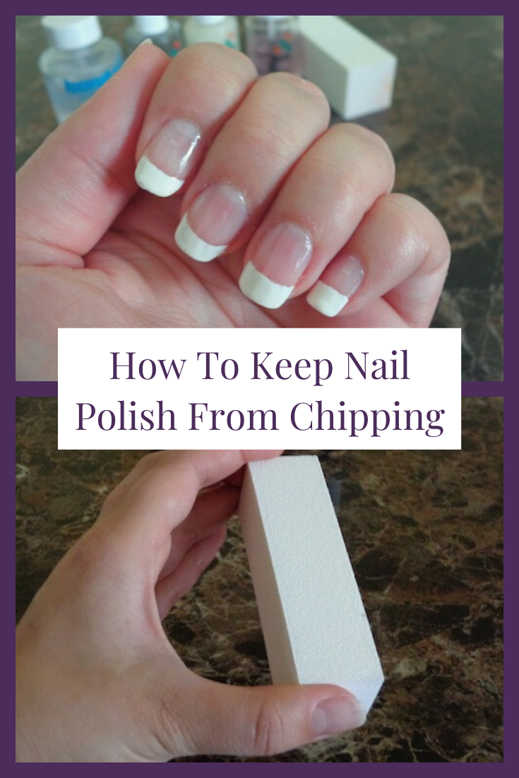 Salons don't want you to know their tricks and hacks for long lasting manicures. I'm a nail tech who is excited to share one of my best beauty hacks with you...<em>how to keep your nail polish from chipping</em>! If you apply these simple tips you'll learn how fun and easy it is to diy your nails at home and get longer lasting polish. I promise it works (for toes too)! This is one of those awesome tutorials that every girl needs in her life.