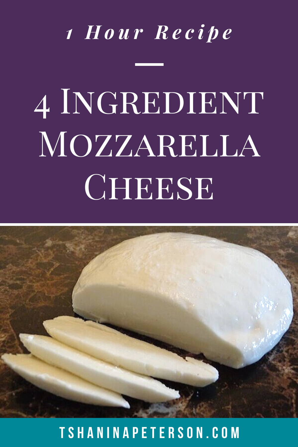 slices of mozzarella cheese