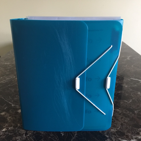 teal duo binder