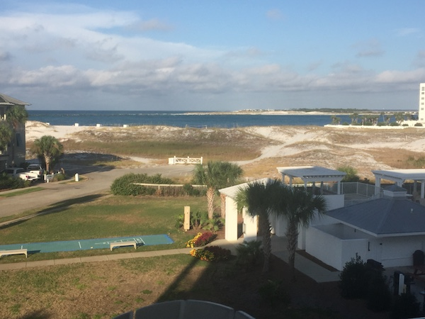 balcony view of the bay