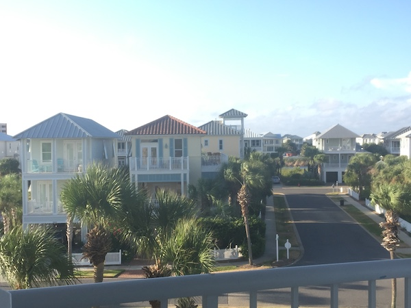 destin pointe community view from magnolia house balcony