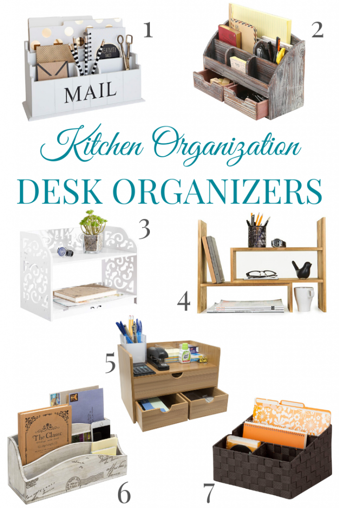 desk organizers ideas