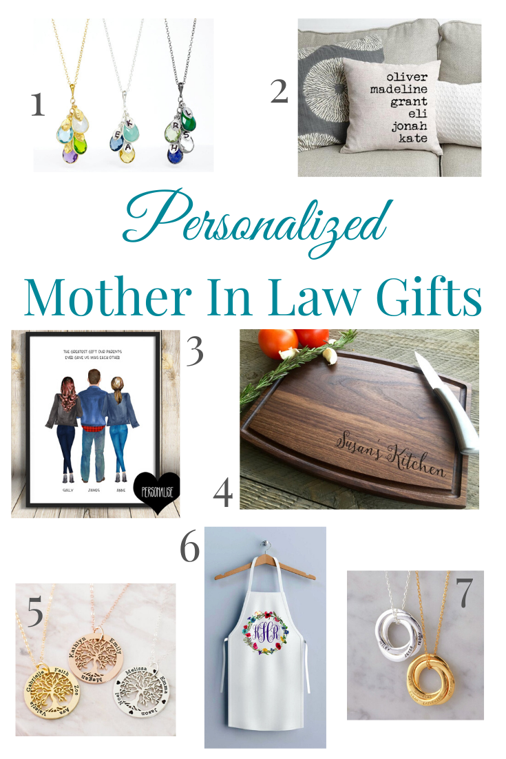 Best Mother In Law Gifts Personalized