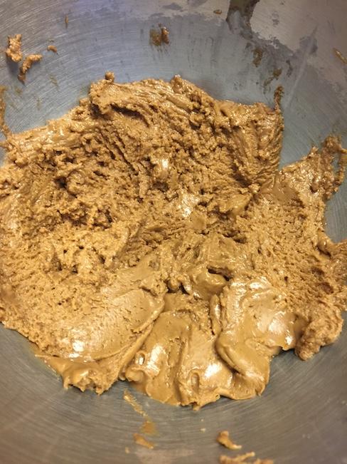 peanut butter ball mixture