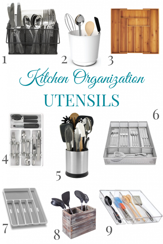 kitchen utensil organization ideas