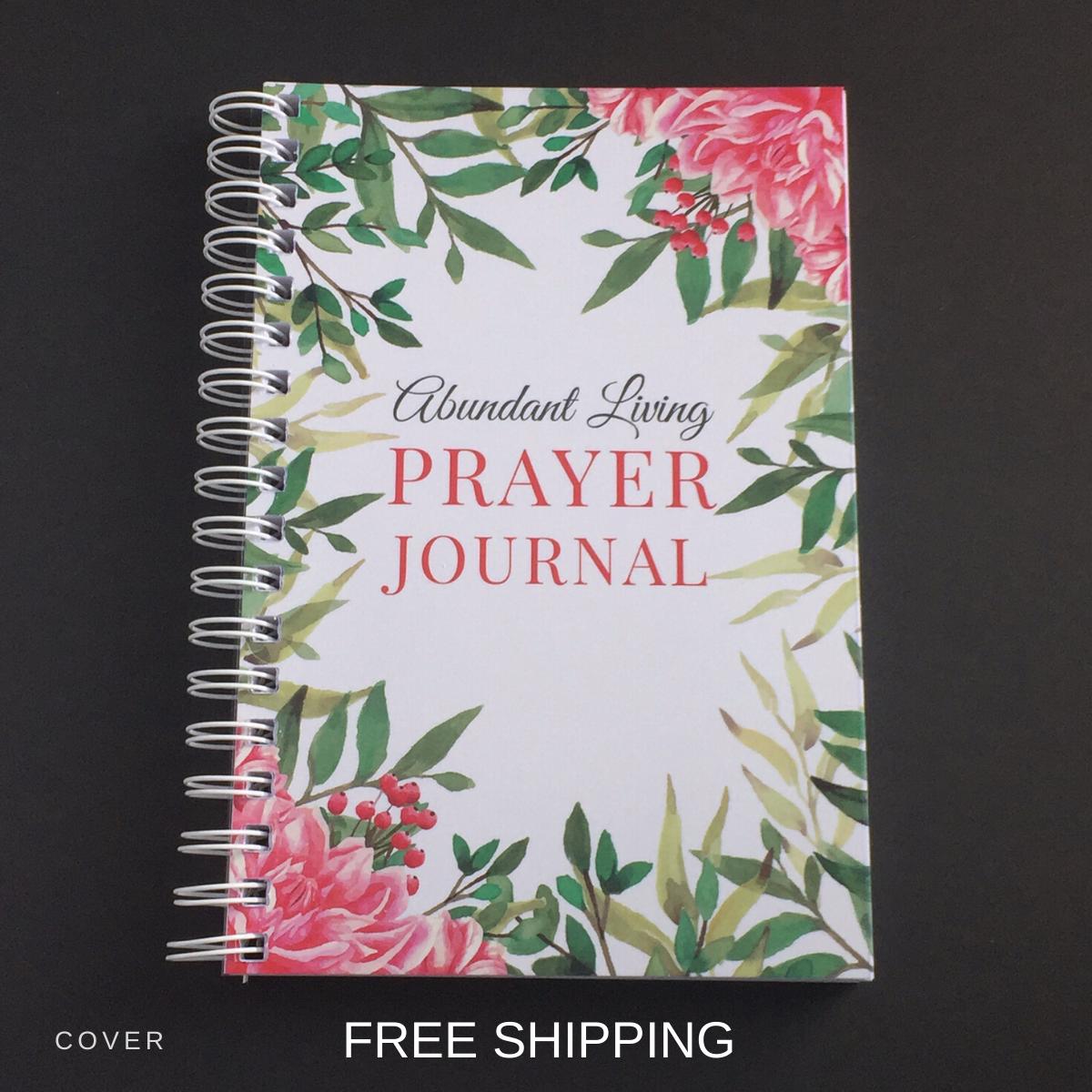 abundant living prayer journal