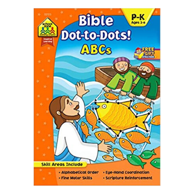 Bible dot to dot activity book