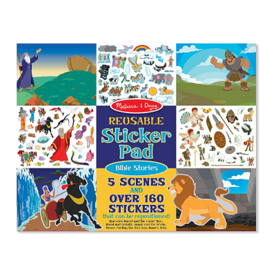 melissa and doug reusable sticker pad bible stories