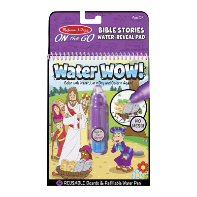 Melissa and Doug water wow bible stories