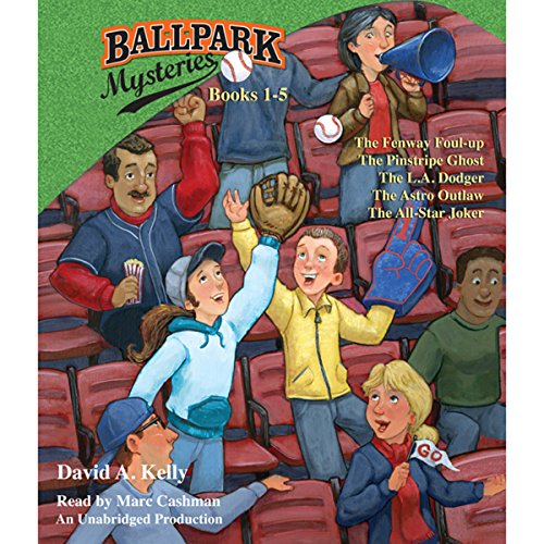 ballpark mysteries books 1-5