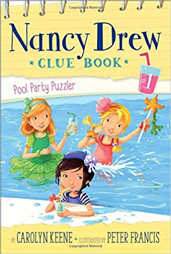 nancy drew clue book pool party puzzler