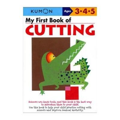 kumon book of cutting