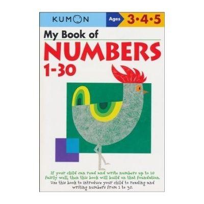 kumon book of numbers