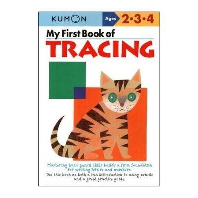 kumon book of tracing