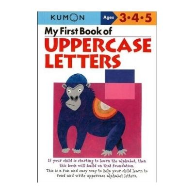 kumon book of uppercase letters