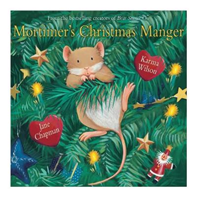 mortimer's christmas manger book