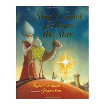 small camel follows the star book