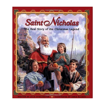 Saint Nicholas: the real story of the christmas legend book