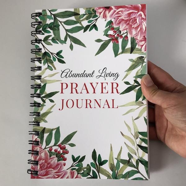 floral prayer journal